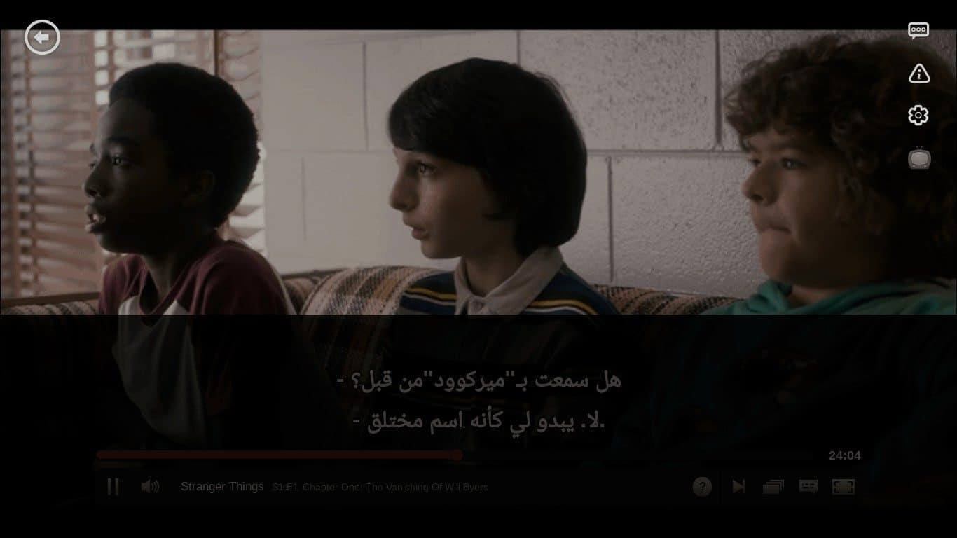 How do you watch Netflix with Arabic subtitles? 1