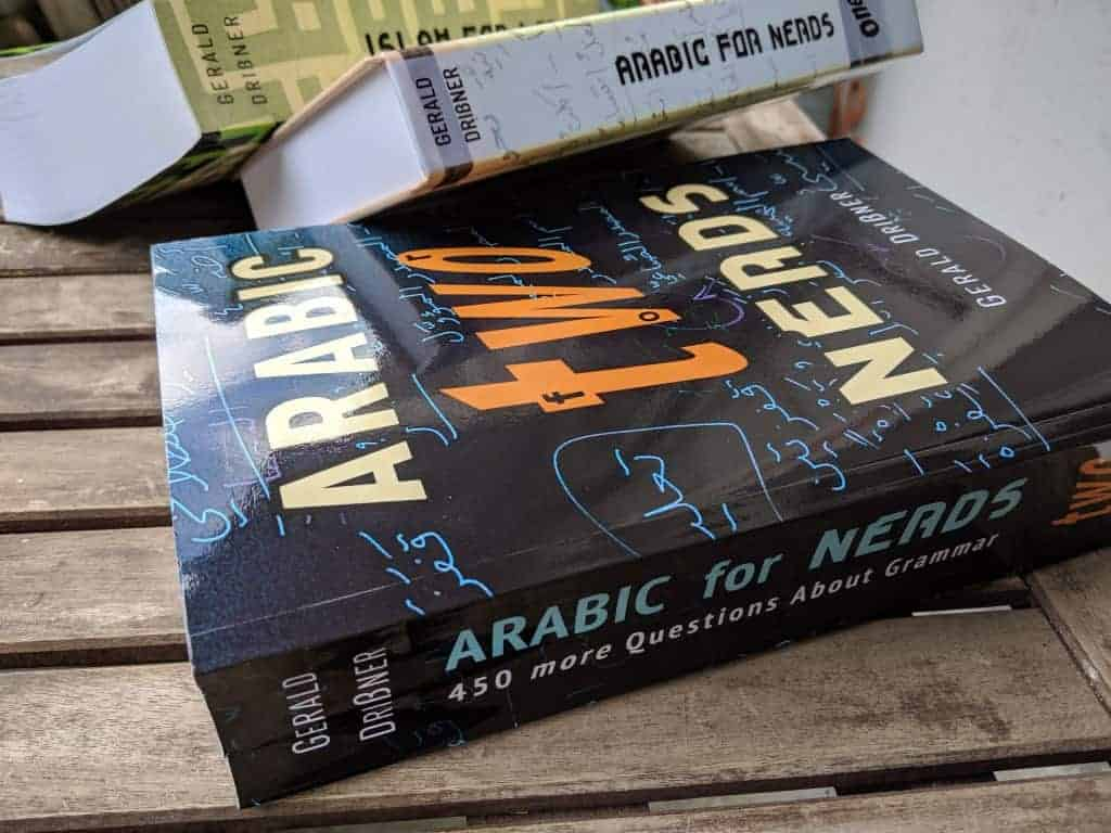 Now available: E-BOOK of Arabic for Nerds 2 (fully revised 1st edition) 1
