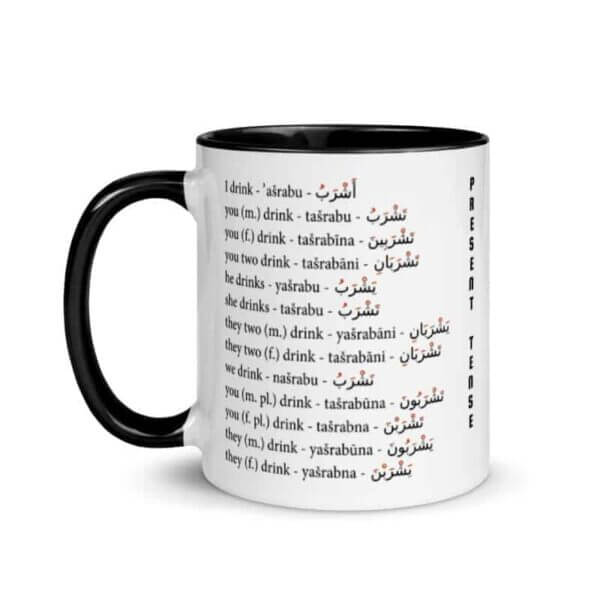 Mug arabic verb conjugation