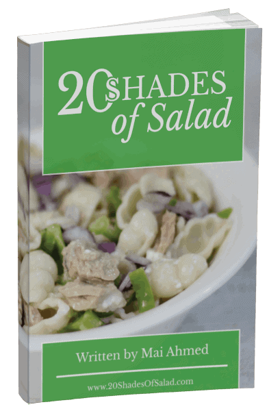 20 Shades of Salad Book Cover 1